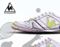 le coq sportif tennis shoes