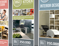 Banner or Rollup Interior Design