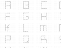 Typographie Filaire