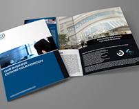 Company Brochure Bi-Fold Template Vol.7