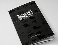 Modernica A4 Tri-Fold Brochure
