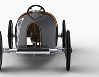 Little wood car for a child