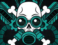 SteamPunk is Not Dead - t-shirt design