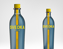 SVEDKA Vodka, Before / After
