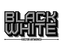 B/W Vector Artworks