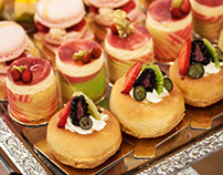 Afternoon tea at Le Cordon Bleu, London