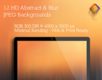 Abstract & Blur Backgrounds V.1