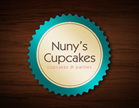 Nuny's Cupcakes -Stationery-Packaging