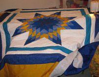 Queen size Star blankets