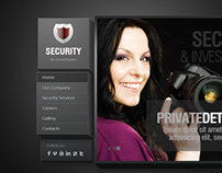 Security Service The Best Protection HTML5 Template
