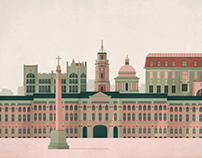 St. Petersburg Postcard