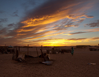 Photography: ISF in Western Sahara