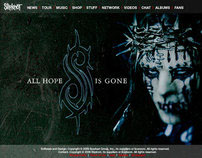 Slipknot Web Design