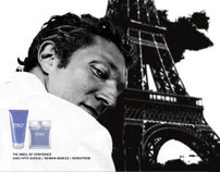 Vincent Cassel Strut Advertising Campaign