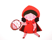 Little Red Riding Hood puppets - Cappuccetto Rosso