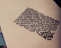 Some kaligrafia in freetime