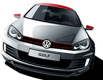 VW Golf tuning