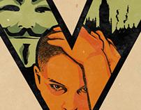 V for Vendetta - Teaser One Sheet