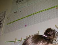 Horizontal/vertical calendar