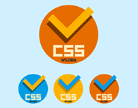 FLAT NEW CSS VALID ICONs