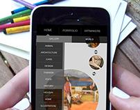 Mobile App Design-Make & Take