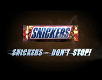 Snickers 'Don't Stop' Radio