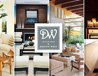 Corporate brochure / Interiors by Design West