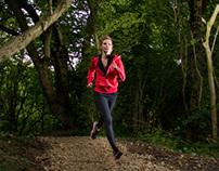 Trail Running Photoshoot