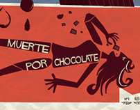 Muerte por chocolate.