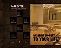 Carpenter Professional Wood Decoration HTML5 Template