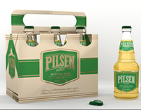 Pilsen Beer Lager.