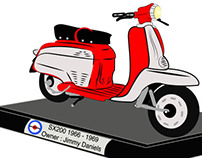 Banner (Personalised Lambreta Scooter)