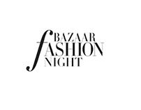 Bazaar fashion night