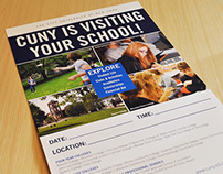 The City University of New York - Print Design