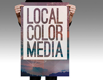 Local Color Media-Exhibition Signage