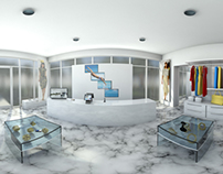 Panoramic 3D Interior Visualizations of Retail Scenes