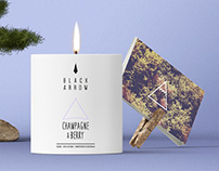 Black Arrow brand identity