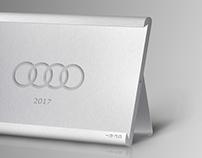 Audi 2017 Calendar Design
