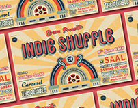 Indie Shuffle - Gig Poster Design