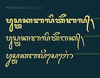 Balinese font: Pustaka Bali v3