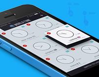 World:Time - iOS app design