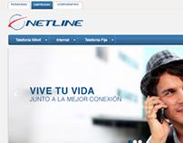 IA, UI & Web Dev. for Netline (Chile & Perú)