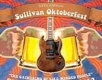 Sullivan Oktoberfest Poster