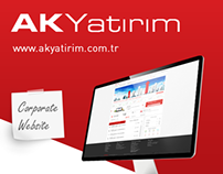 Ak Investment Corporate Website Design
