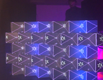 3D mapping DJ booth