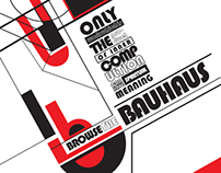 Browse The Bauhaus