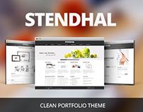 STENDHAL – CLEAN PORTFOLIO THEME