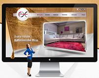 Ocaklar Halıcılık Web Design