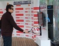 Optimus / Santander Totta - Tennis Simulator