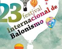 Cartaz de Evento Int. de Balonismo
